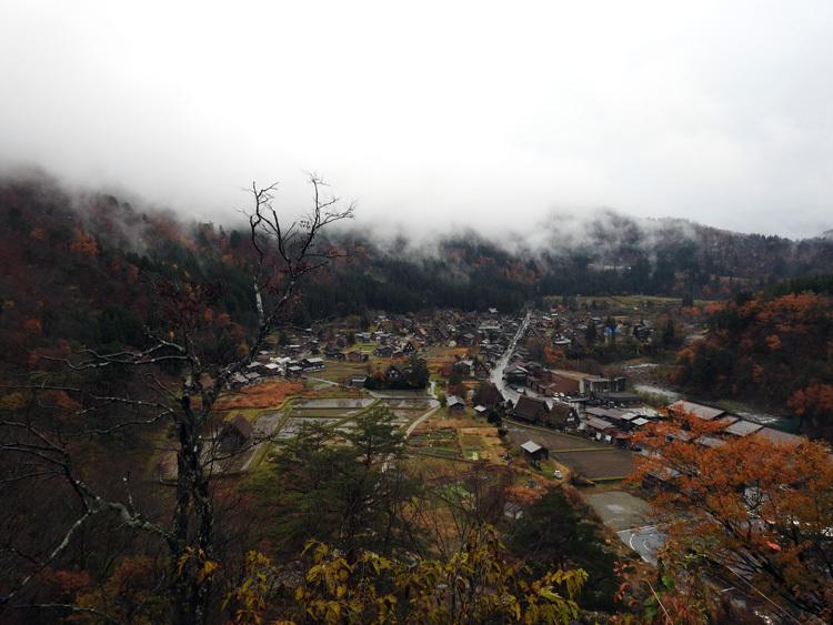 白川郷 本日初雪5