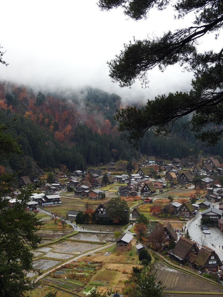 白川郷 本日初雪7