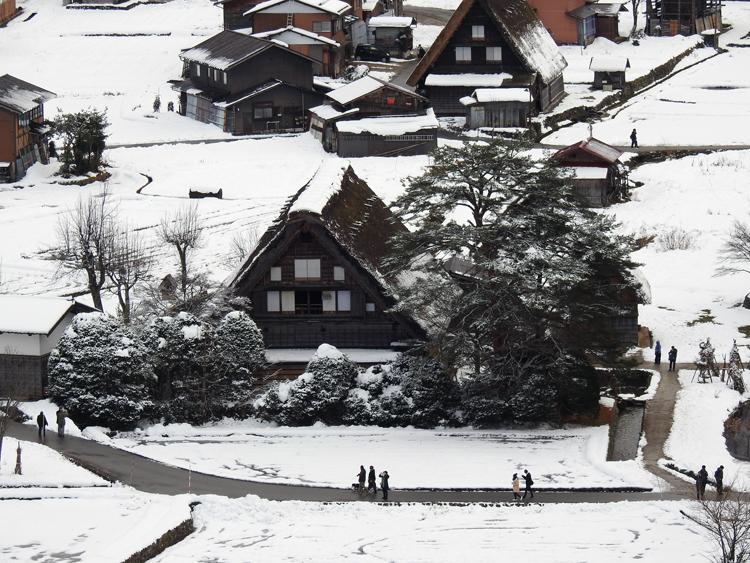 12月9日 ユネスコの世界遺産(文化遺産) に登録されました日 白川郷7