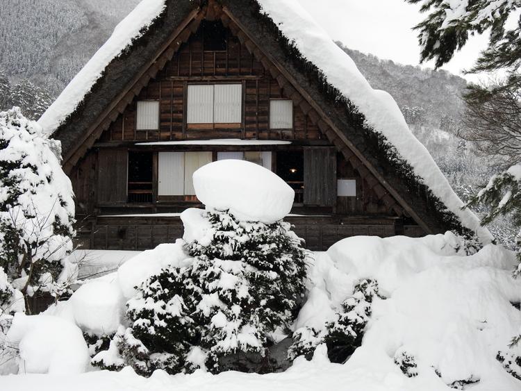 冬休みのご旅行に!白川郷1