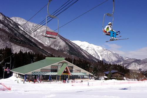 平瀬温泉白弓スキー場1