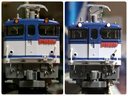 左:純正、右:LED交換後