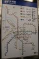 台湾の地下鉄路線図