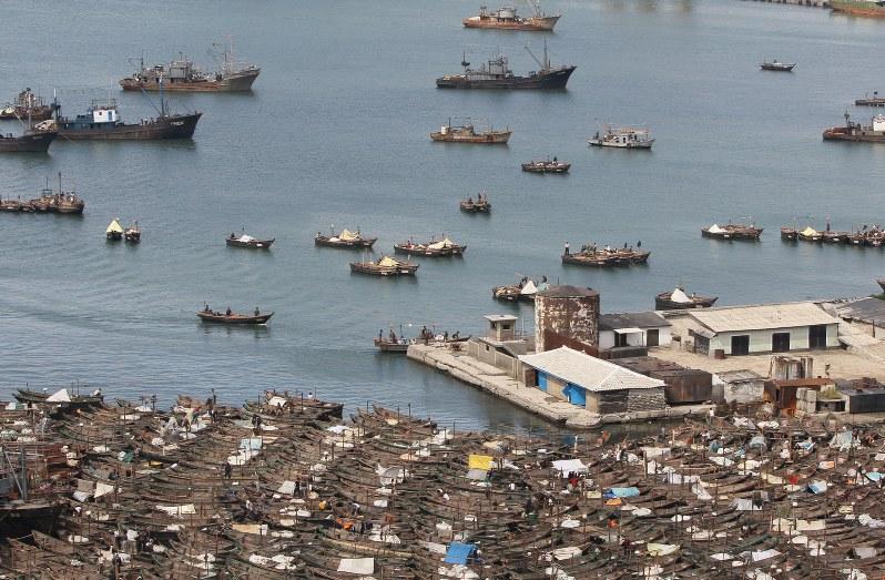 北朝鮮釣り船