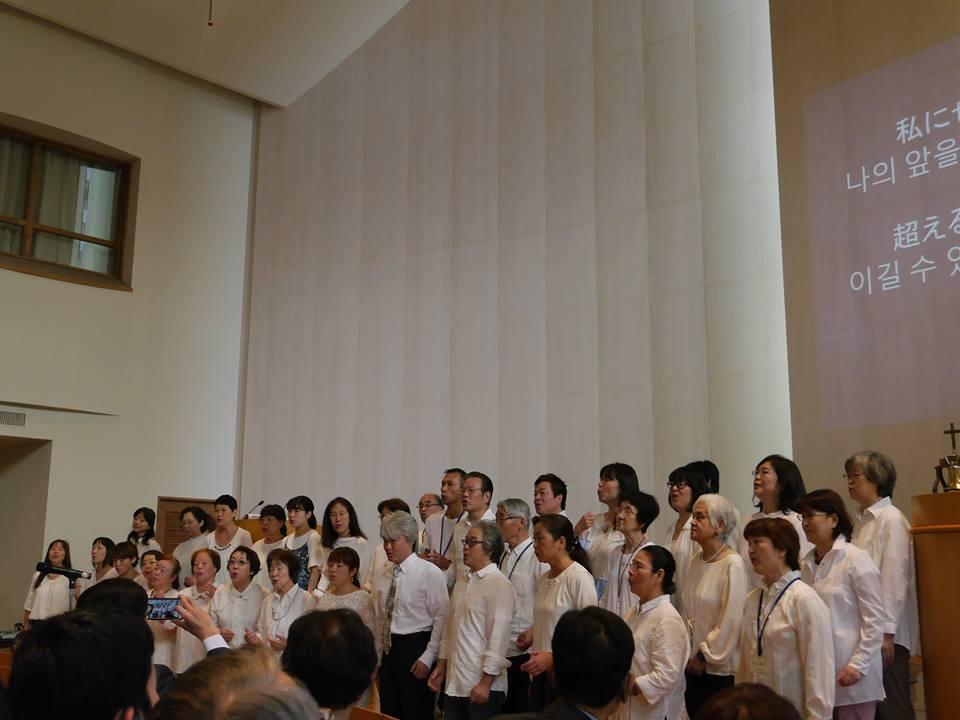 KGCM praises Korean gospel song