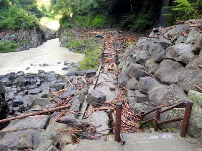 高千穂峡被害状況