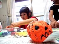 ハロウィンLED光るかぼちゃ 工作 キッズ・アトリエ生