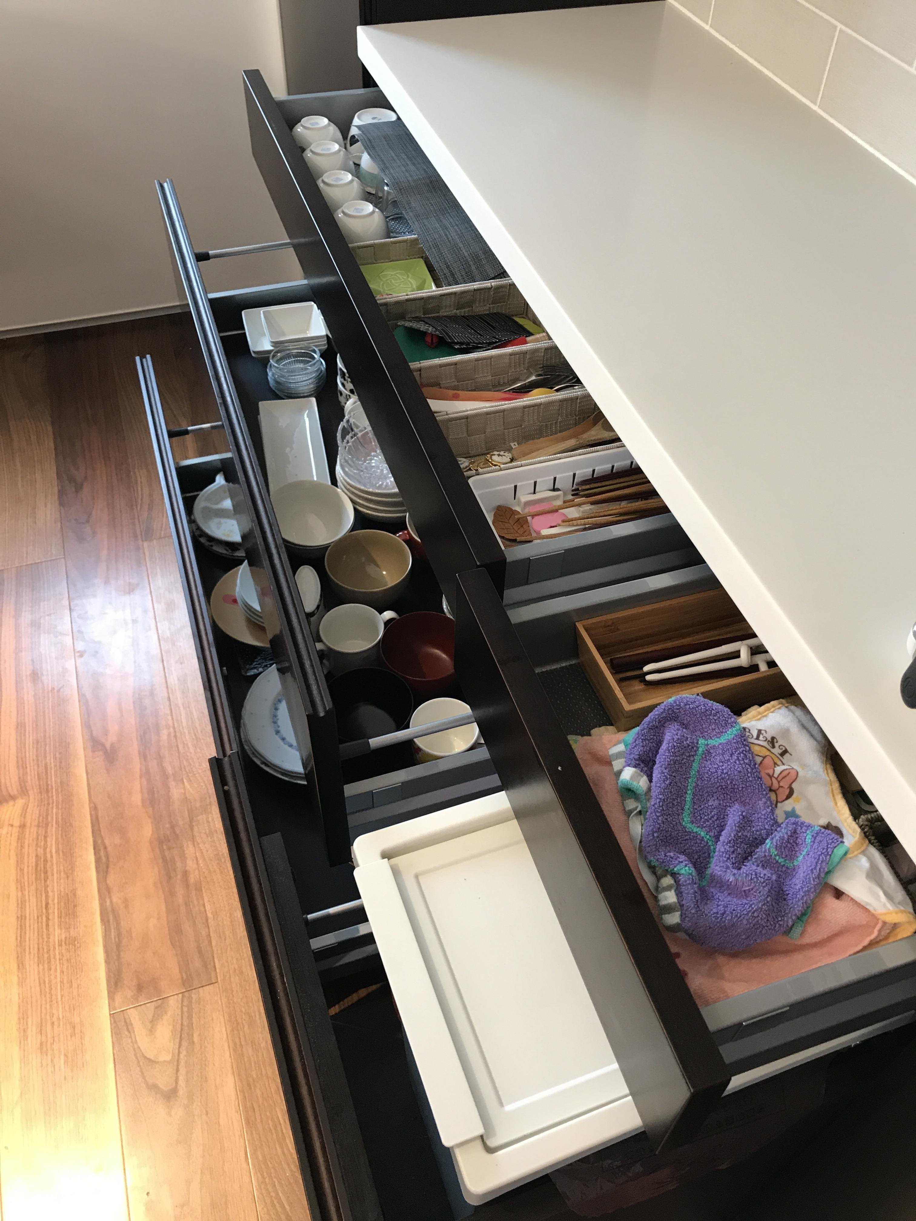 キッチン引出収納