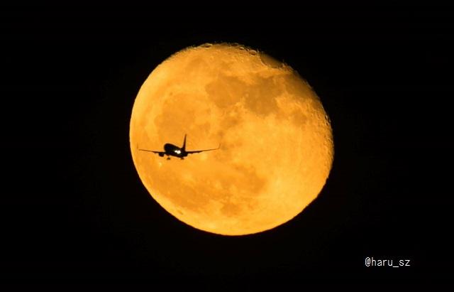 月と飛行機 1