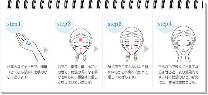 モイスチャーコンプリートマスク 使い方