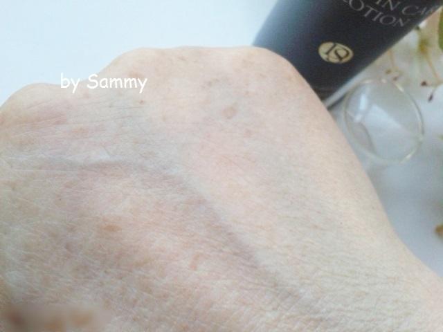 ドクター Shimura 角質ケア化粧水 塗った肌