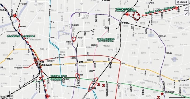地下鉄東部線地図0002