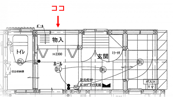 平面図_玄関クローゼット