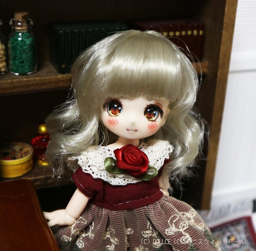 [Suuny*MooN] 4inch wig アビースタイル ハニーメレンゲ