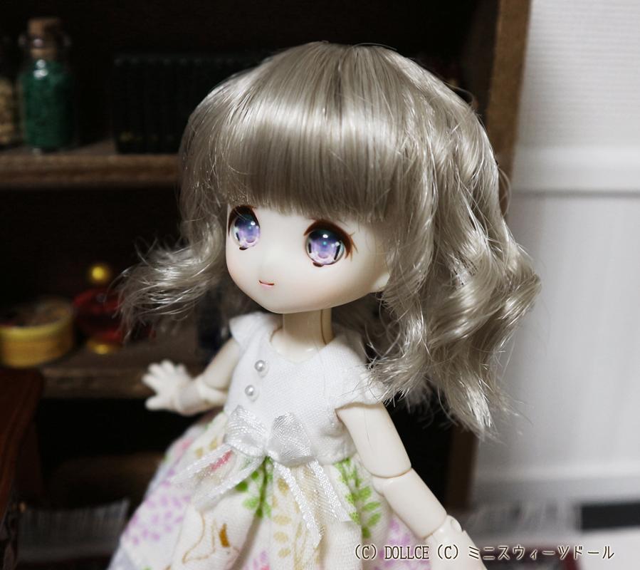 [Suuny*MooN] 4inch wig アビースタイル アンティークグレイ