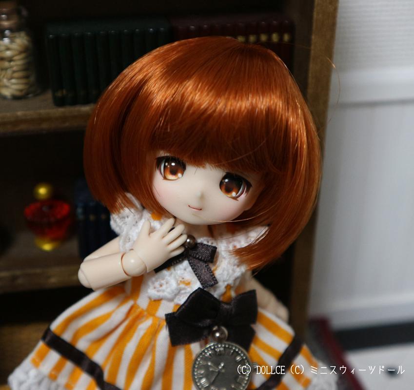 [Suuny*MooN] 4inch wig しずくスタイル ミルクメレンゲ