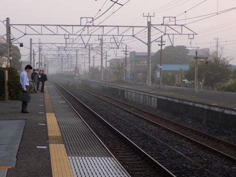 ⑧2017年10月12日の霧と朝日 005-2