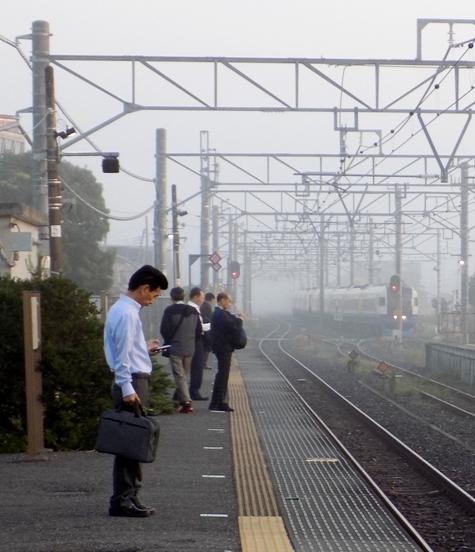 ⑨2017年10月12日の霧と朝日 005-3