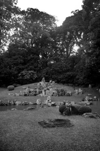 万福寺のお庭