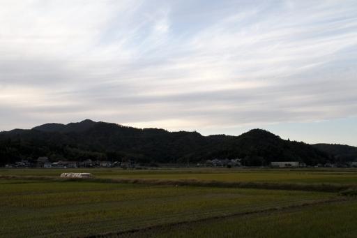 遙か彼方の朝日山