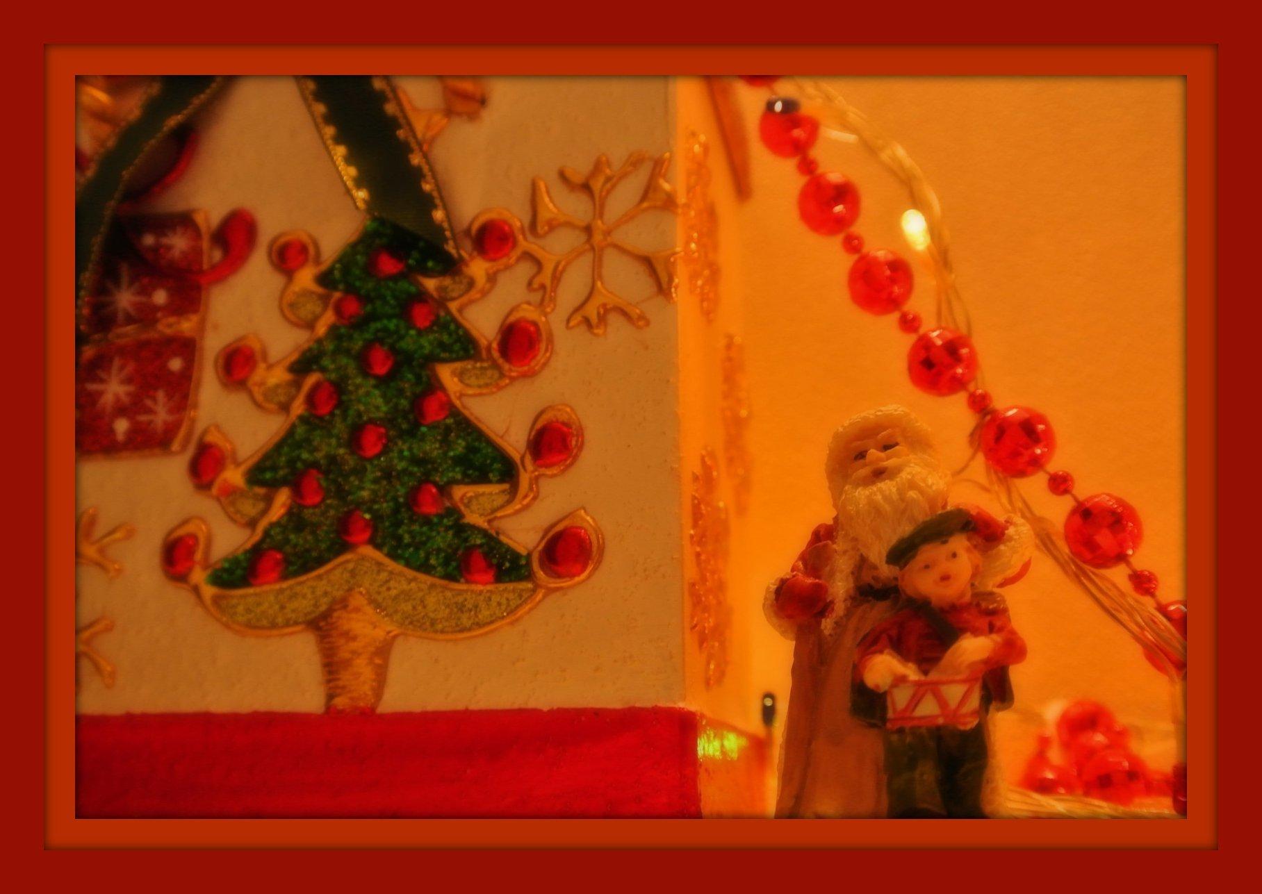 クリスマスの教室玄関♪