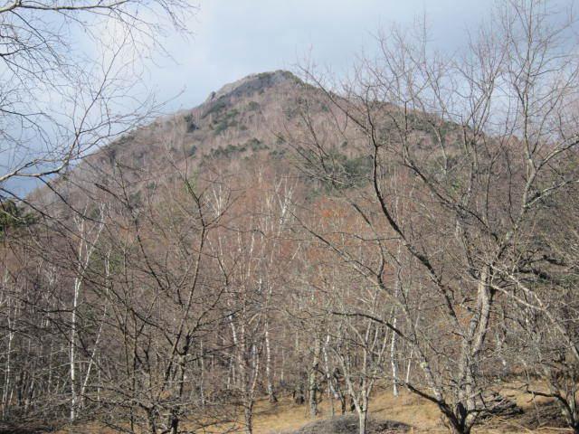 ①国師ケ原からの乾徳山IMG_3265