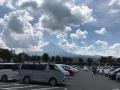 やっと富士山見えた