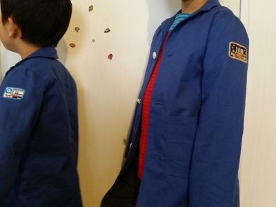 美濃羽まゆみ ジャケット風コート