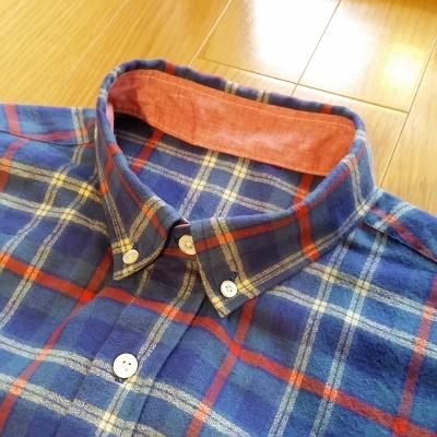 パターンレーベル メンズシャツ