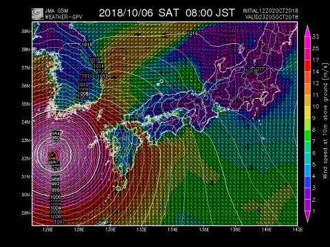 6日風予報