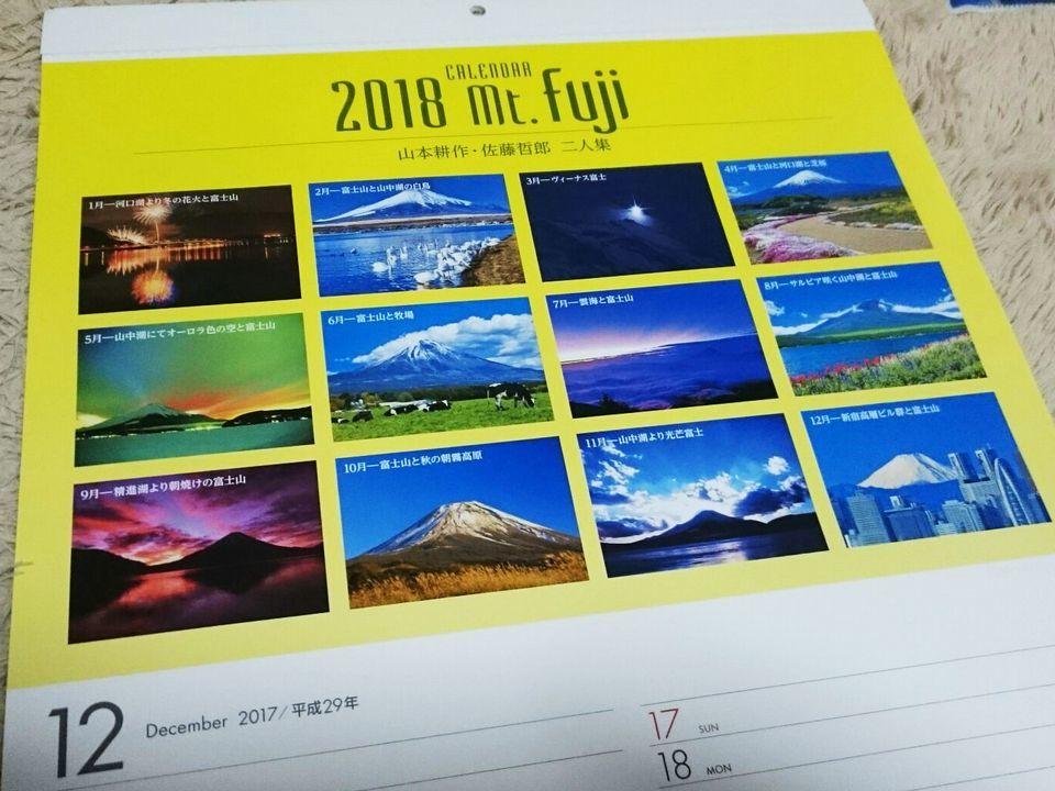 持田製薬カレンダー2018年表紙