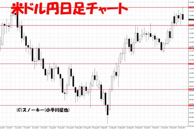 20171028米ドル円日足