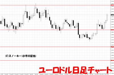 20171126ユーロドル日足チャート