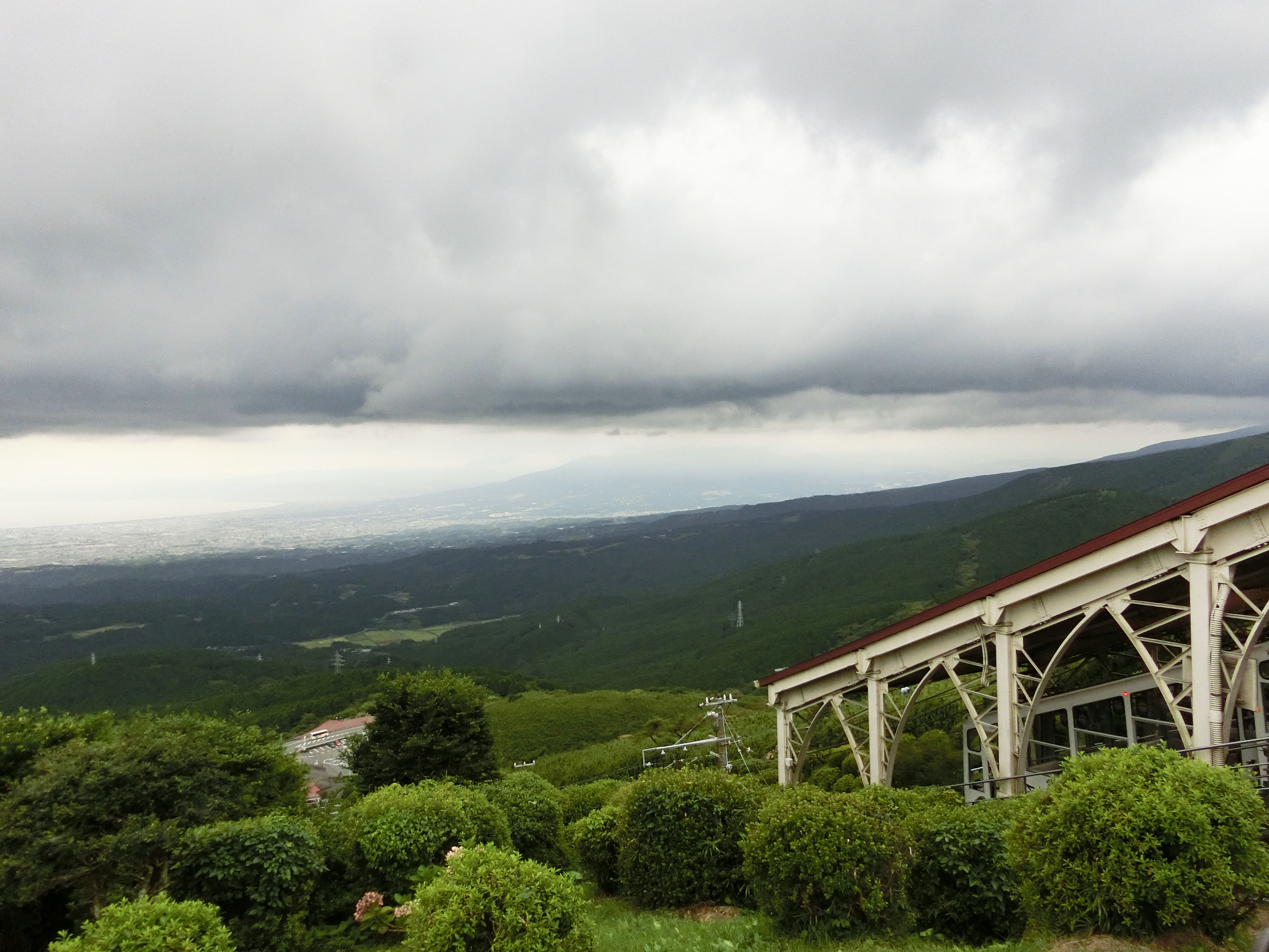 1709十国峠から見下ろす景色