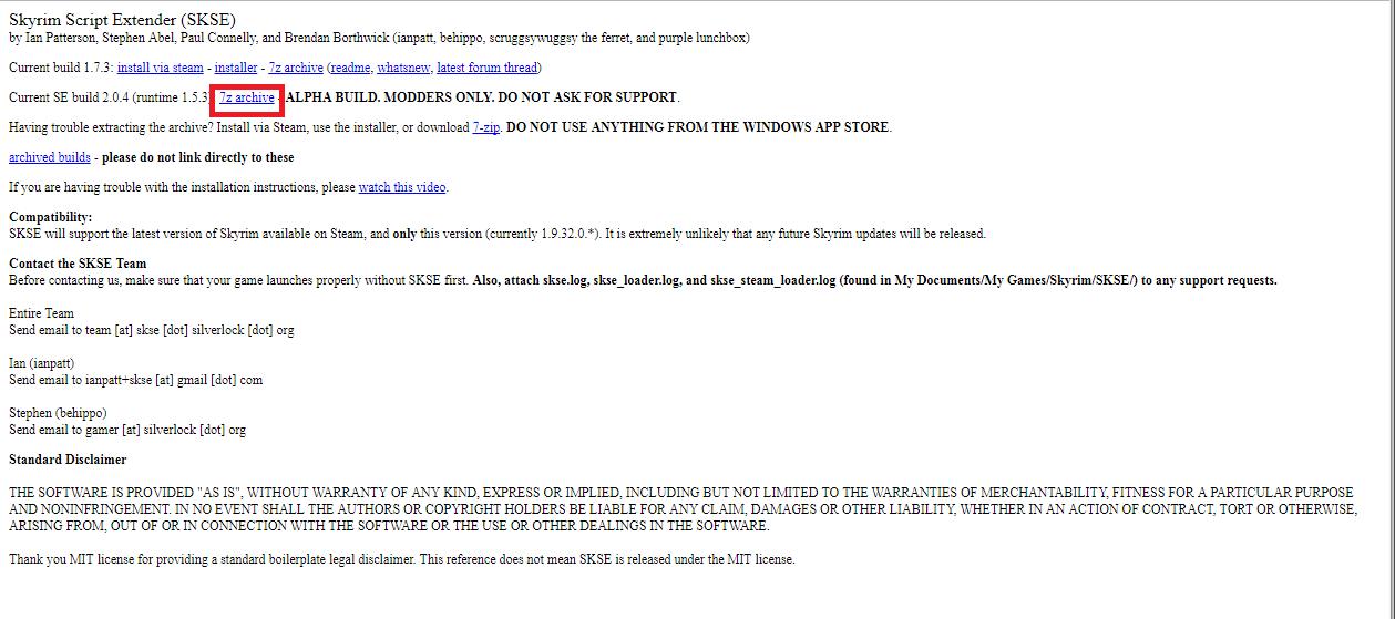 Skyrim SE SKSE64とECEの導入 - 64bit版Skyrim SE MOD備忘録