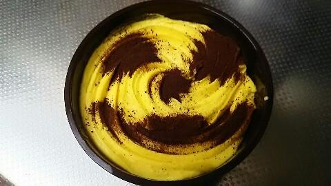 おばけかぼちゃのモンブラン (2)