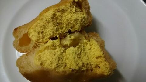 シナモン香るパンプキンのシュークリーム (4)