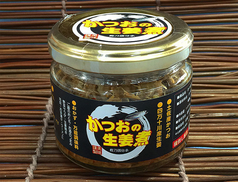 かつおの生姜煮-瓶-1