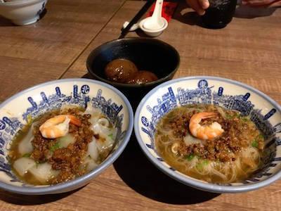街の風景(麺)
