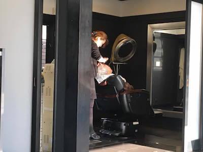 みよこさん散髪2
