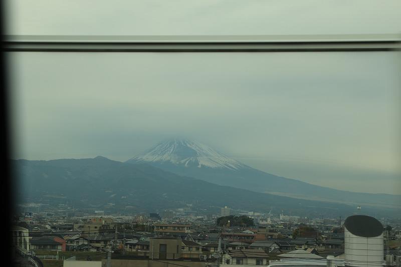帰り道の富士