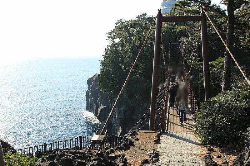 城ケ崎吊り橋1