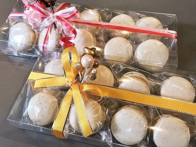 「アールグレイとホワイトチョコレートのマカロン」Lesson