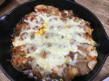 トッポキ肉巻きチーズ焼き