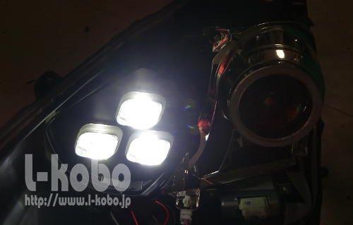 アクアヘッドライト加工2