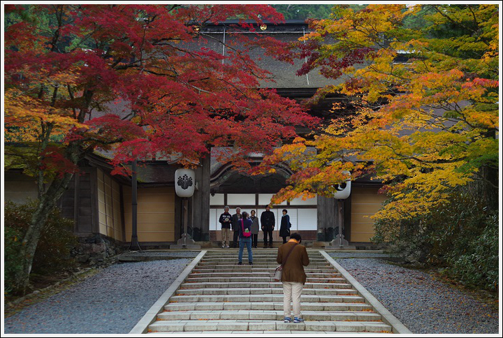 2017年10月30日 高野山の紅葉 (5)