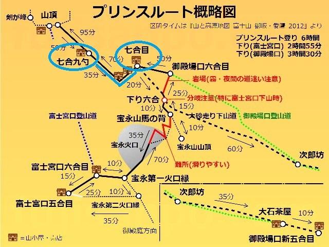 富士山プリンスルート地図2