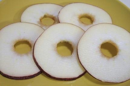 リンゴ 切り方