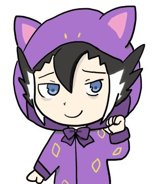 ギーマさん猫耳パーカ