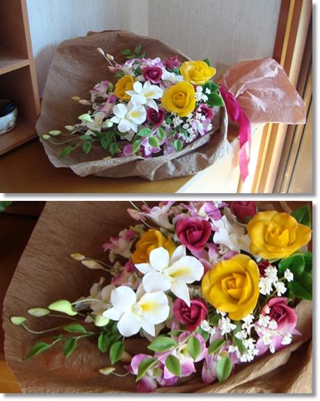 デンファレ花束